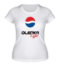 Женская футболка Оля Лайт