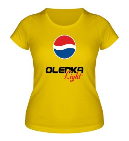 Женская футболка «Оля Лайт»