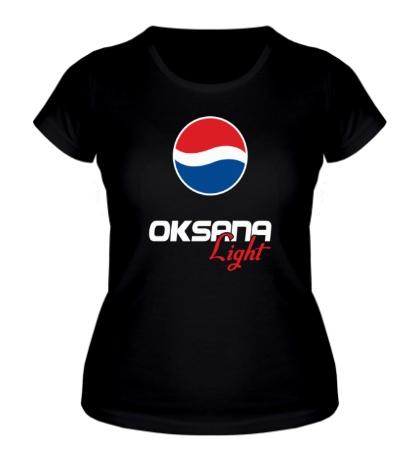 Женская футболка Оксана Лайт
