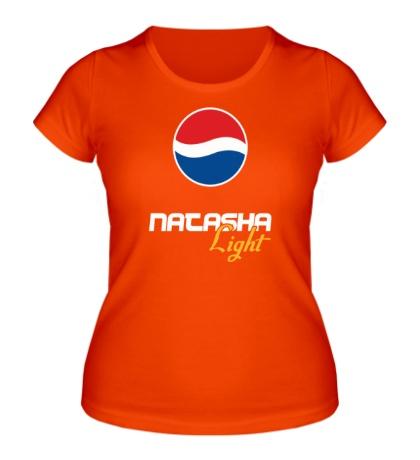 Женская футболка Наташа Лайт