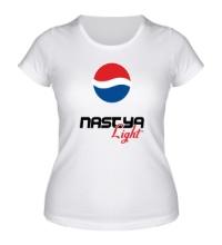 Женская футболка Настя Лайт