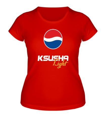 Женская футболка Ксюша Лайт