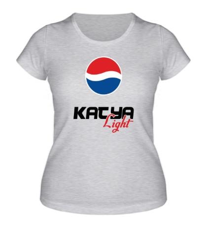 Женская футболка Катя Лайт