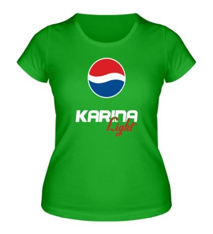 Женская футболка Карина Лайт