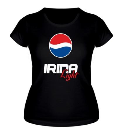 Женская футболка Ира Лайт
