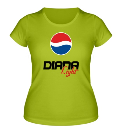 Женская футболка Диана Лайт