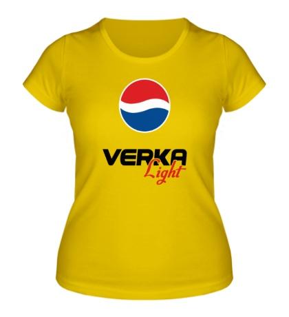 Женская футболка Вера Лайт
