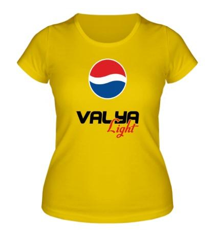 Женская футболка Валя Лайт