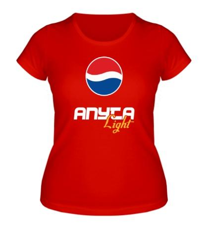 Женская футболка Аня Лайт