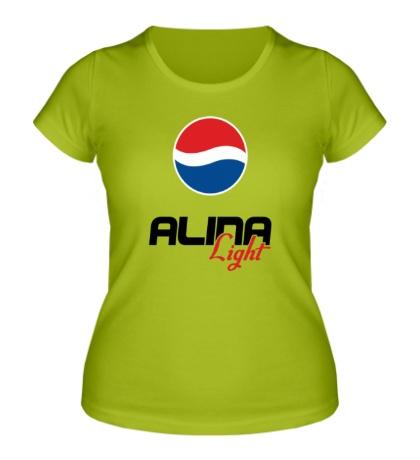 Женская футболка Алина Лайт