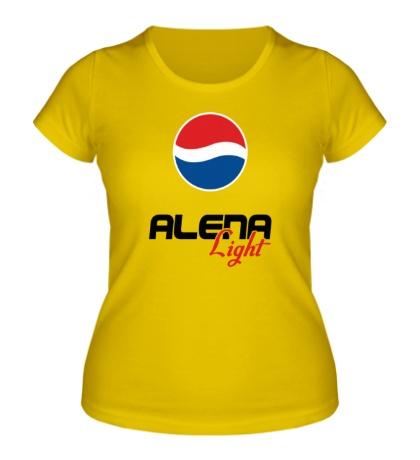 Женская футболка Алена Лайт