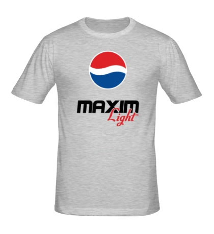 Мужская футболка Максим Лайт