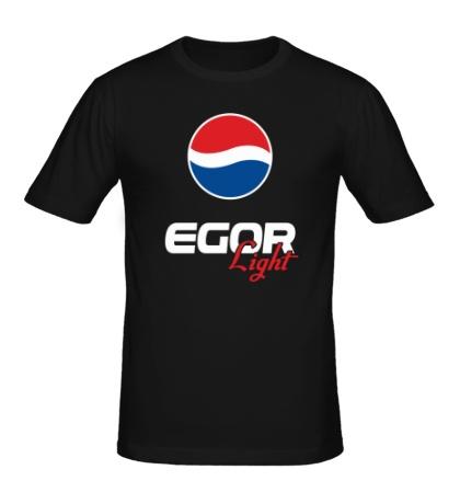 Мужская футболка Егор Лайт