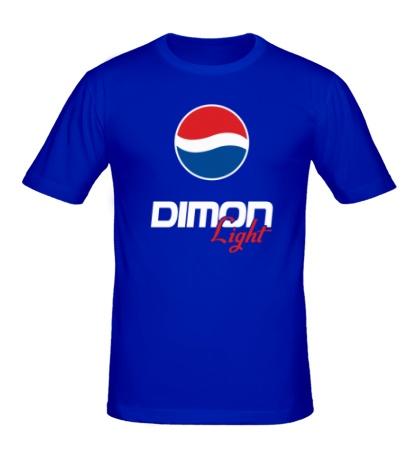 Мужская футболка Дима Лайт