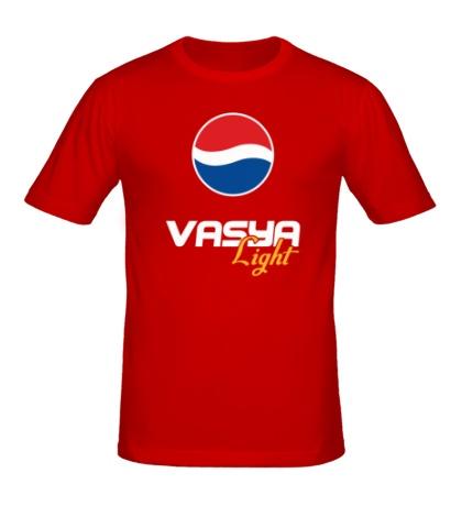 Мужская футболка Вася Лайт