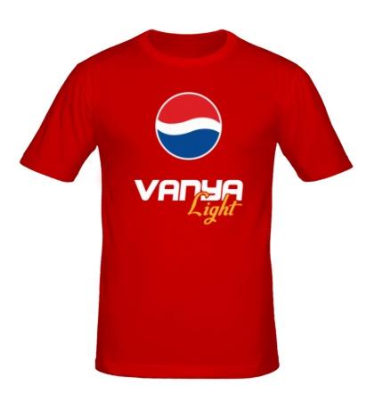 Мужская футболка Ваня Лайт