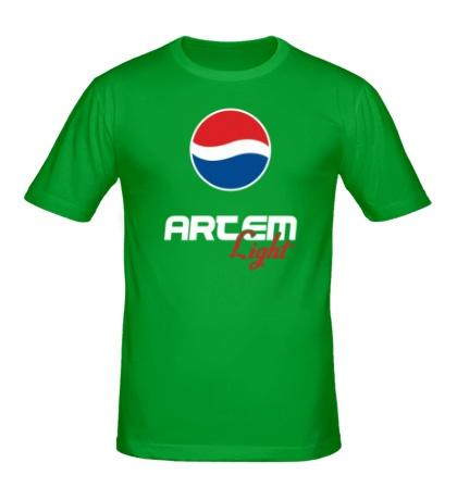 Мужская футболка Артем Лайт