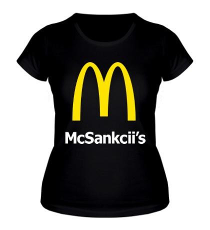 Женская футболка Мак Санкции