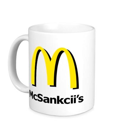 Керамическая кружка Мак Санкции