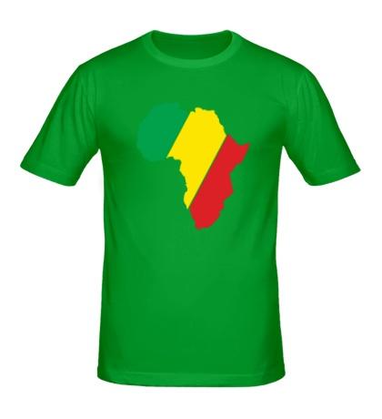 Мужская футболка Мама Африка
