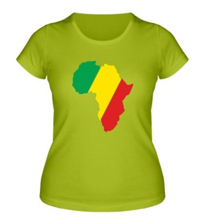 Женская футболка Мама Африка