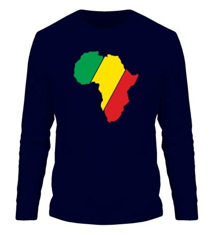 Мужской лонгслив Мама Африка