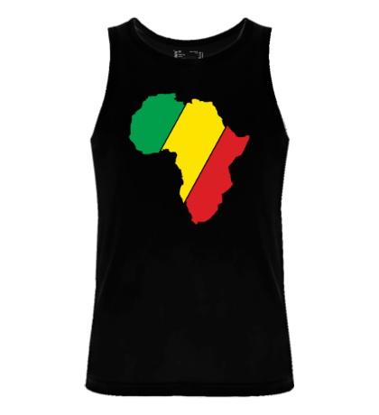 Мужская майка Мама Африка
