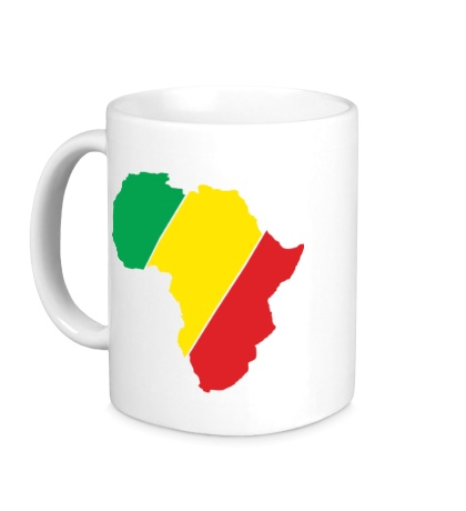 Керамическая кружка Мама Африка