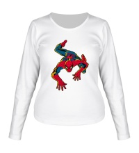 Женский лонгслив Spider-Man