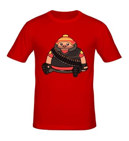 Мужская футболка Cute Heavy