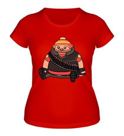 Женская футболка Cute Heavy