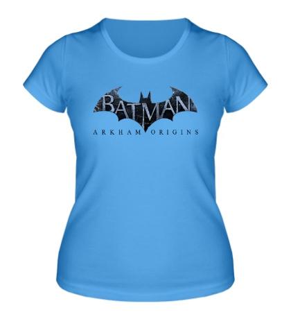 Женская футболка Batman: Arkham Origins