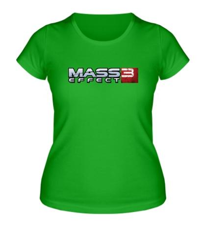 Женская футболка Mass Effect 3