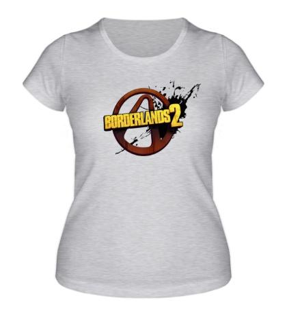 Женская футболка Borderlands 2