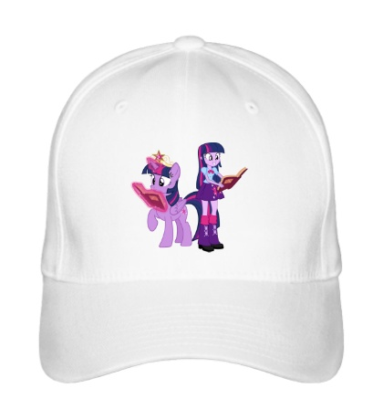 Бейсболка Twilight Sparkle and Twilight Sparkle