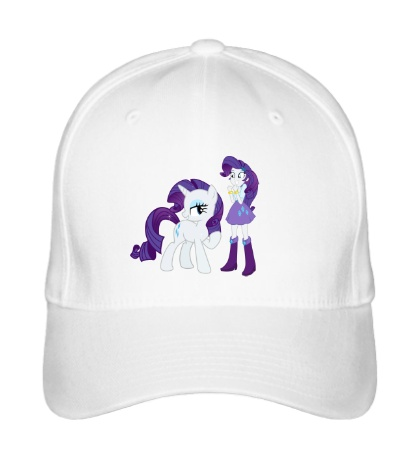 Бейсболка Rarity and Rarity