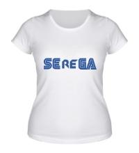 Женская футболка Serega