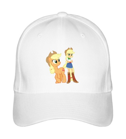 Бейсболка Applejack and Applejack