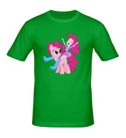 Мужская футболка Pinkie Pie and Pinkie Pie