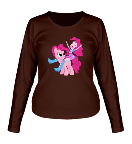 Женский лонгслив Pinkie Pie and Pinkie Pie