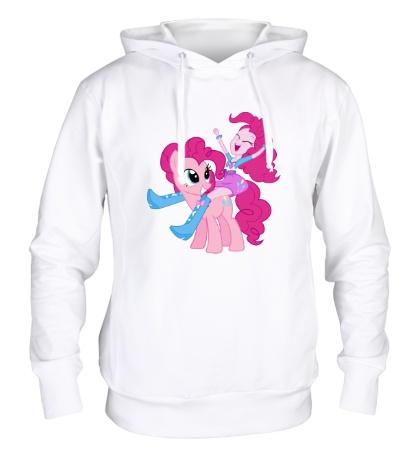 Толстовка с капюшоном Pinkie Pie and Pinkie Pie