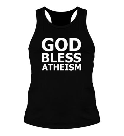 Мужская борцовка God bless atheism