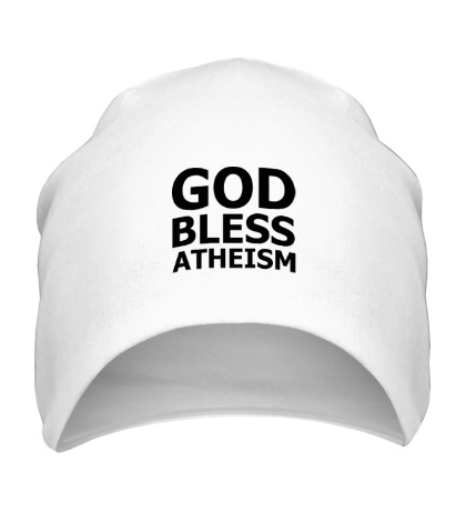 Шапка God bless atheism
