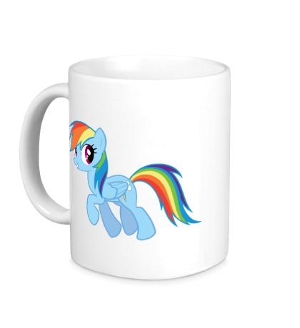 Керамическая кружка Rainbow Dash