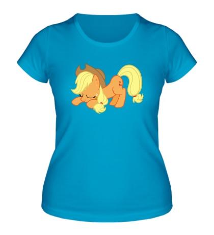 Женская футболка Applejack