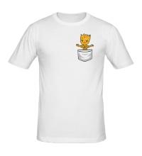 Мужская футболка Грот в кармане