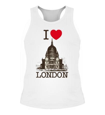 Мужская борцовка I love London
