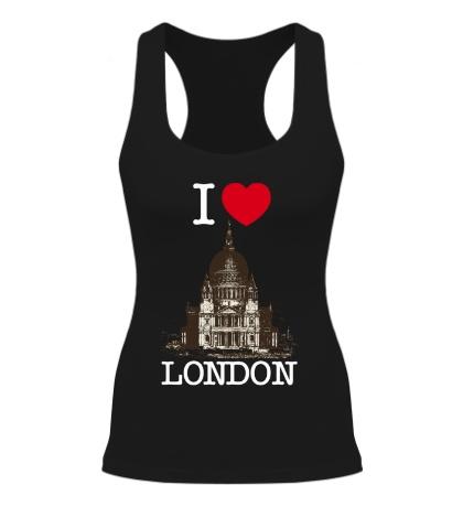 Женская борцовка I love London