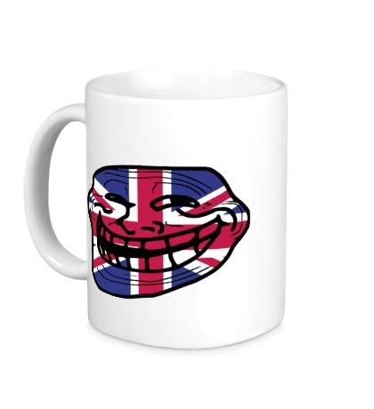 Керамическая кружка Trollface UK