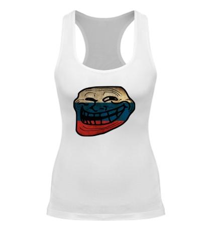 Женская борцовка Trollface RU